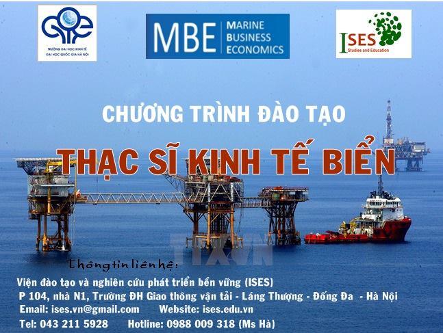 Tuyển sinh chương trình đào tạo Thạc sĩ kinh tế biển